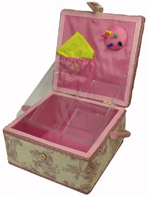 niciarka, szkatułka pudełko puzderko na nici