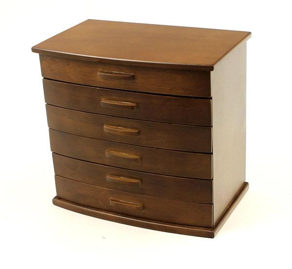 drewnian szaktułki do biżuterii